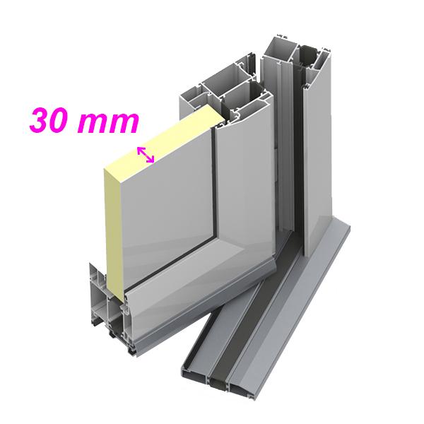 Porte DEntre Aluminium Pf  Porte DEntre Aluminium Classique  Mm
