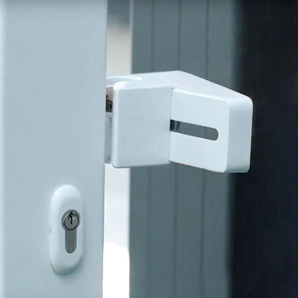 Gâche De Réception Design Pour Portail Aluminium Coulissant