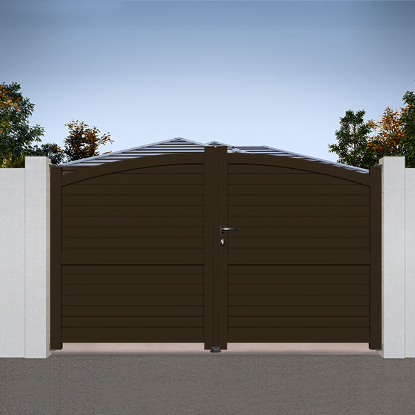 portail aluminium bomb cl11 portail battant. Black Bedroom Furniture Sets. Home Design Ideas