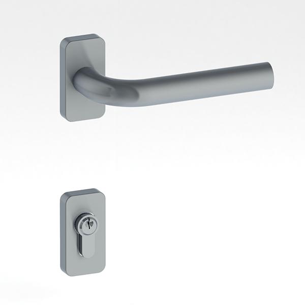 Porte d 39 entr e aluminium pf1 porte classique gamme 30 mm for Largeur porte classique