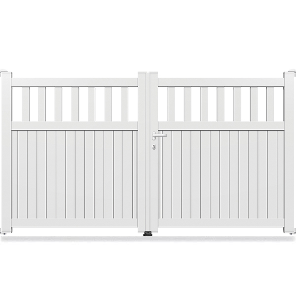 portail aluminium droit semi ajour sm07 portail battant. Black Bedroom Furniture Sets. Home Design Ideas