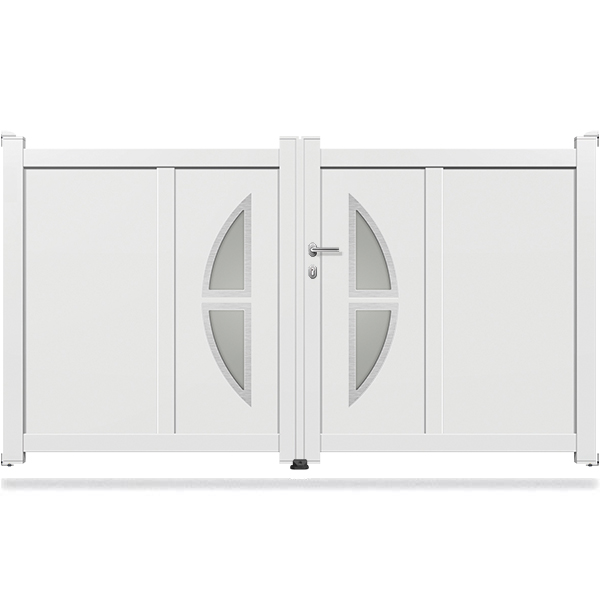 portail aluminium battant design ds16 portail aluminium battant. Black Bedroom Furniture Sets. Home Design Ideas