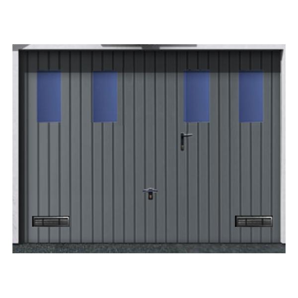 Porte de garage basculante grises portes de garage basculante prix discoun - Montage porte basculante ...