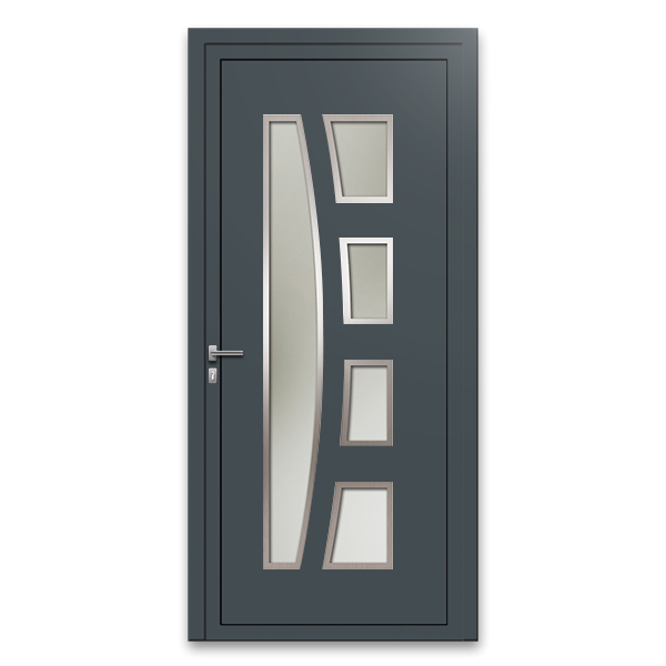 porte d 39 entr e aluminium ke2a porte design gamme 30 mm. Black Bedroom Furniture Sets. Home Design Ideas