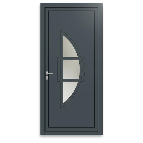 Porte Dentrée Aluminium Design GP Porte Design Gamme Mm - Porte d entrée en alu