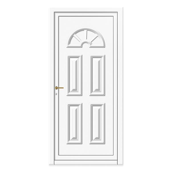Porte d 39 entr e aluminium pf1 porte d 39 entr e aluminium for Largeur porte classique