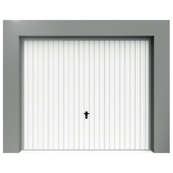 Porte de garage basculante rainures verticales porte for Porte de garage sectionnelle 220 x 200