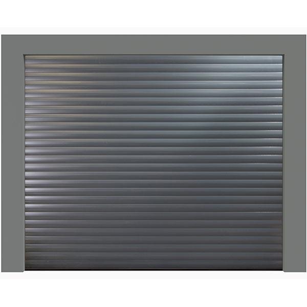 Porte de garage enroulable 240 x 200 couleur ral 7016 for Porte de garage 220 x 200