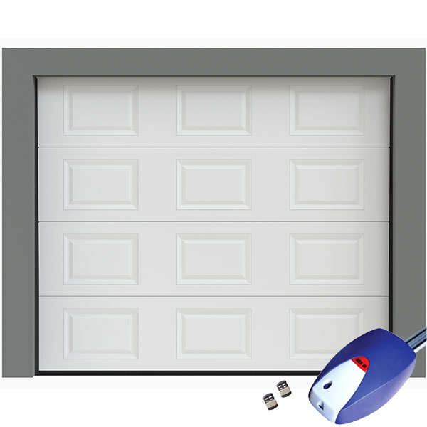 Porte de garage sectionnelle cassettes motoris e porte sectionnelle - Porte garage sectionnelle motorisee ...
