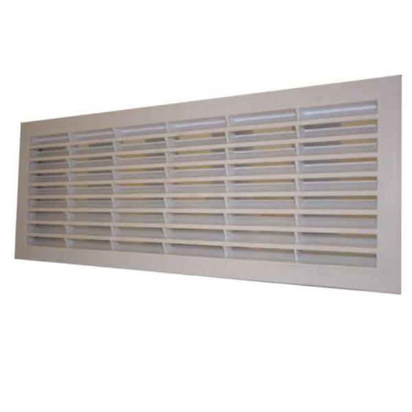 grille de ventilation pour porte de garage sectionnelle et