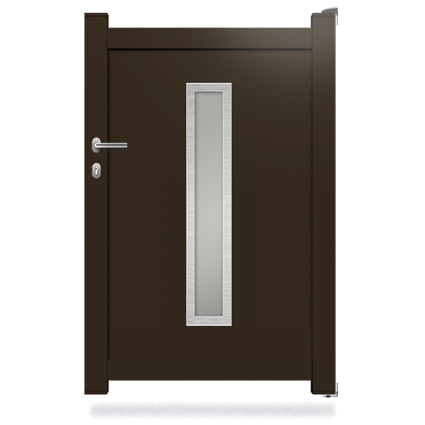 Portillon aluminium DS17