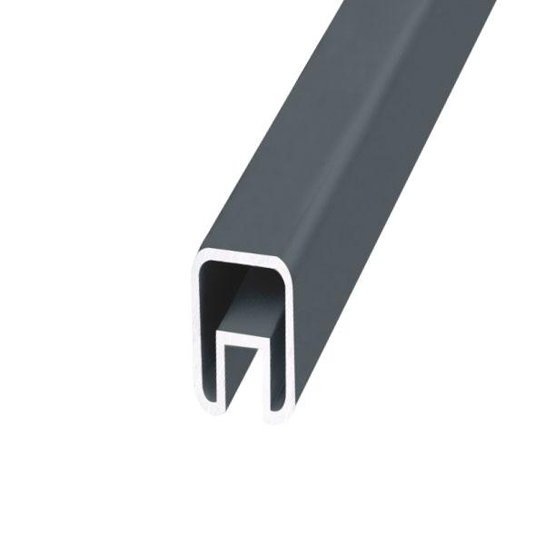 Profile De Finition Pour Palissade Aluminium Gris Anthracite Ral 7016 Pieces Detachees