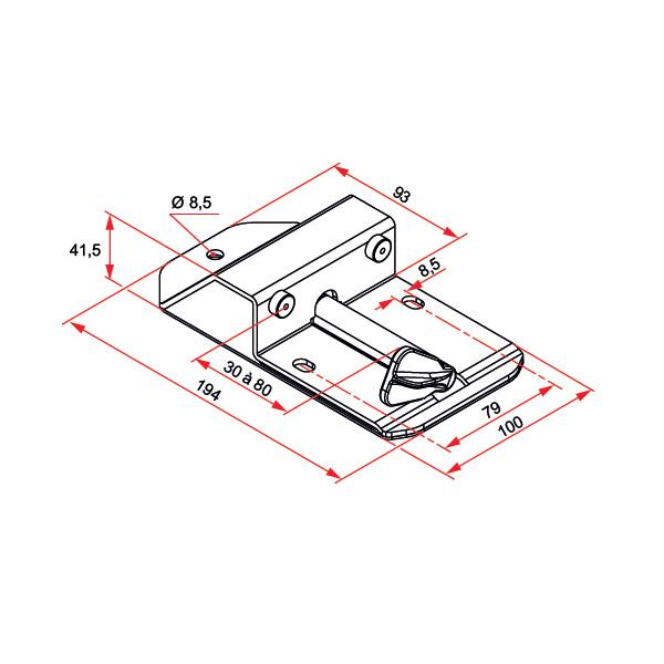 But 233 E D Arr 234 T Centrale En Inox Pour Portail Aluminium Battant Portail Battant