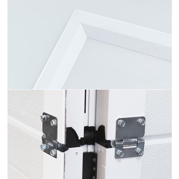 porte de garage sectionnelle avec portillon lisse porte sectionnelle avec portillon. Black Bedroom Furniture Sets. Home Design Ideas