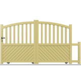 portail aluminium coulissant sur mesure portails aluminium coulissant pas cher. Black Bedroom Furniture Sets. Home Design Ideas