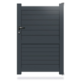Portillon aluminium CL12
