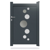 Portillon aluminium DS02