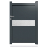 Portillon aluminium DS10