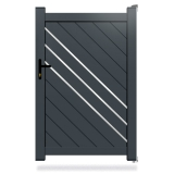 Portillon aluminium Everest