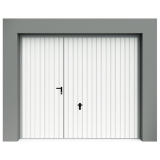Porte de garage basculante avec portillon porte de garage - Porte de garage basculante isolee avec portillon integre ...