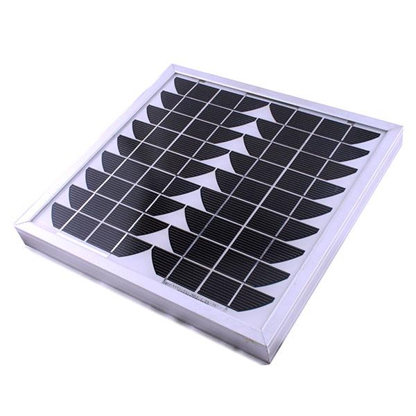 panneau solaire 12 vols pour automatisme sw et slide automatismes de portail aluminium. Black Bedroom Furniture Sets. Home Design Ideas
