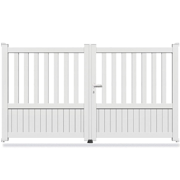 portail aluminium droit promotion portail aluminium battant. Black Bedroom Furniture Sets. Home Design Ideas
