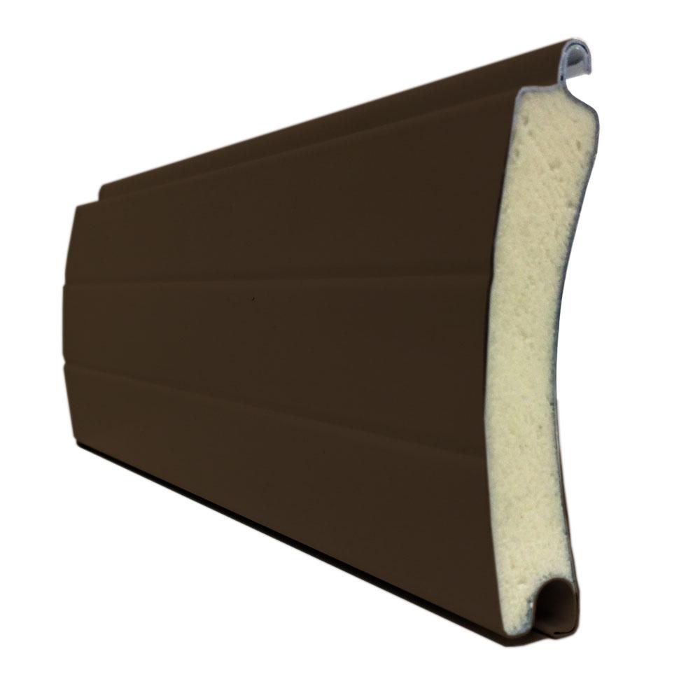Porte de garage enroulable 240 x 200 ral 8014 porte for Neo10 porte garage