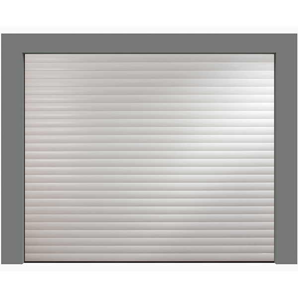 Porte de garage enroulable aluminium 240 x 200 blanche for Devis porte de garage enroulable sur mesure
