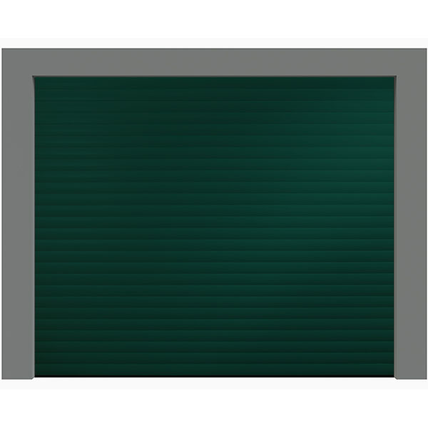 Porte de garage enroulable aluminium 240 x 200 verte for Porte de garage 220 x 200