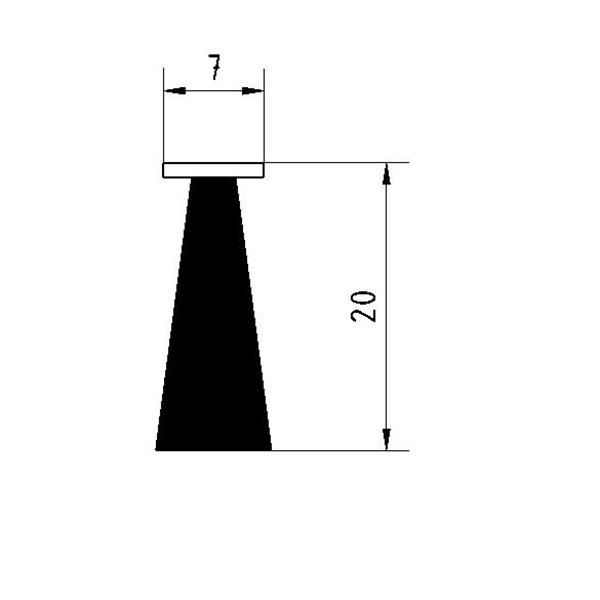 joint brosse pour porte de garage lat rale porte sectionnelle. Black Bedroom Furniture Sets. Home Design Ideas