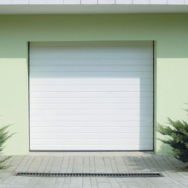 Porte de garage sectionnelle rainures motoris e porte sectionnelle standard - Largeur porte garage standard ...