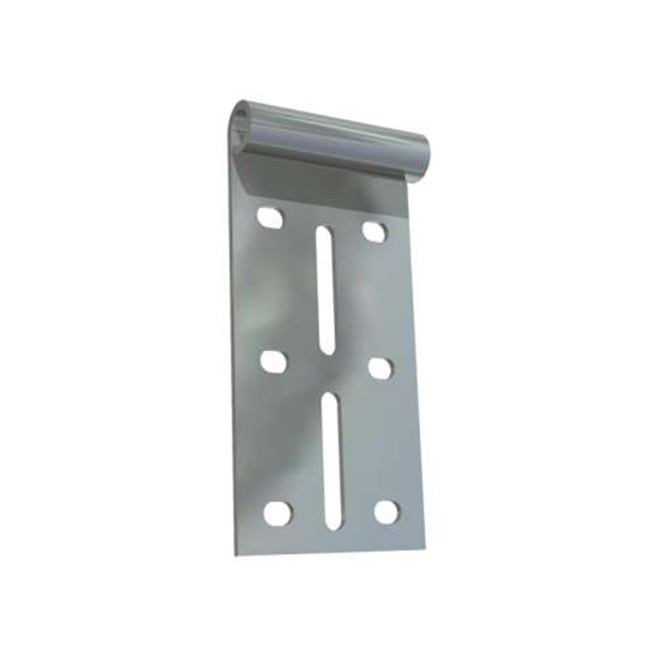 Support plat de galet haut pour porte de garage for Piece porte garage