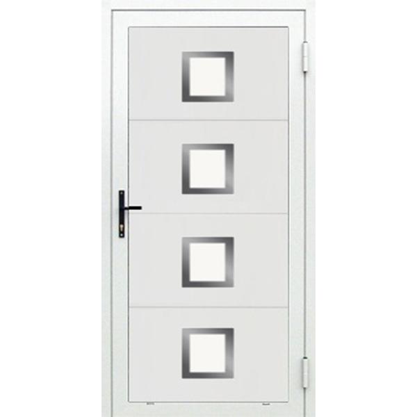 Porte de service design pour porte de garage sectionnelle for Porte de service