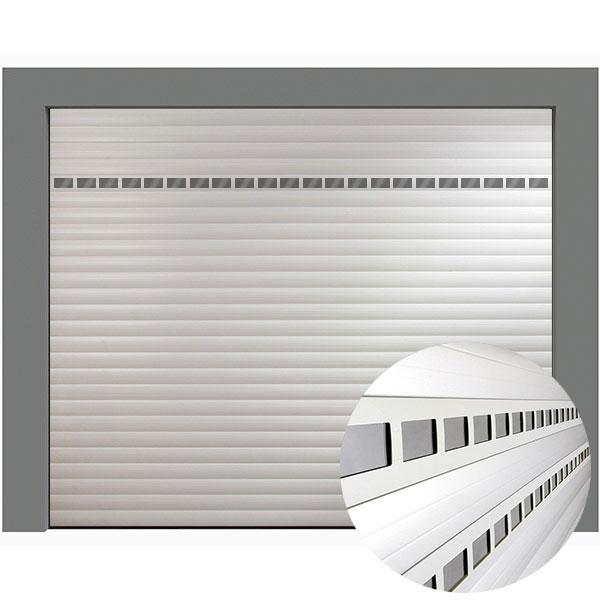 Lames Aluminium Hublot 77 Mm Pour Porte De Garage Enroulable Pieces Detachees