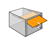 Porte de garage sur mesure direct usine for Porte de garage basculante sur mesure avec portillon